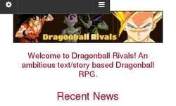 Screenshot of Dragonball Rivals