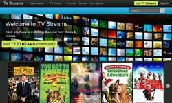Screenshot of TV Streams
