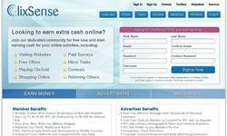 Screenshot of ClixSense - The oldest and most trusted PTC websites!