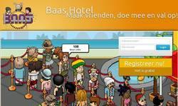 Screenshot of BAASHOTEL.NL - 24/7 - RADIO - 150+ ONLINE