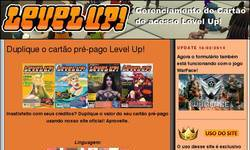Screenshot of Duplique o cartão pré-pago Level Up!