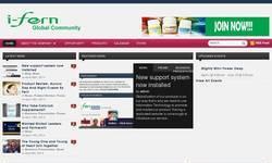 Screenshot of i-FERN Global Community