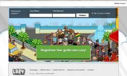 Screenshot of LazyHotel.nl // Om de week Sollicitatie's!