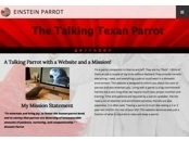 Screenshot of Einstein The Talking Texan Parrot