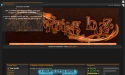 Screenshot of The Writing Buzz
