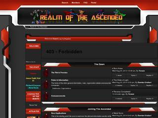 Screenshot of Realm of the Ascended