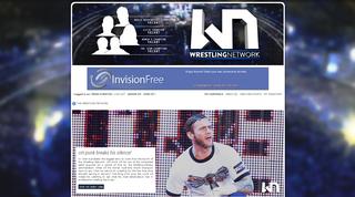 Screenshot of THE WRESTLING NETWORK