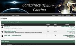 Screenshot of Conspiracy Theory Cantina