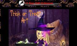 Screenshot of Trick or Treat Art