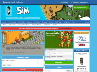 Screenshot of Sim-Hotel.nl - R63B - 24/7 Sim Radio - 500+ Online