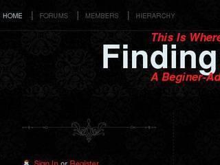 Screenshot of Finding Hope Pack