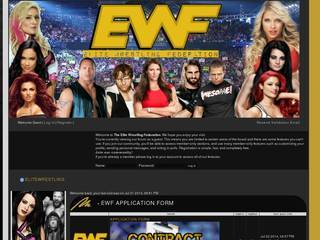 Screenshot of Elite Wrestling Federation