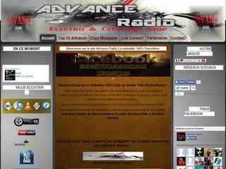 Screenshot of Advance Radio Webradio Electro & Club