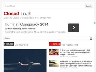 Screenshot of Closed Truth