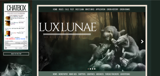 Screenshot of Lux Lunae