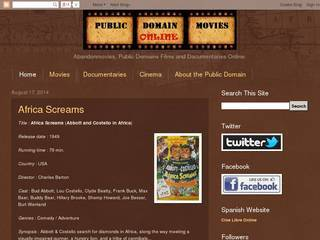 Screenshot of Public Domain Movies Online
