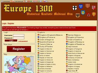 Screenshot of Europe 1300