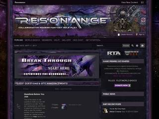 Screenshot of Resonance