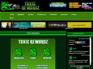 Screenshot of Toxic Rewardz