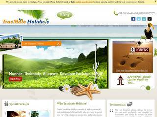 Screenshot of Vacation Packages, Cheap Travel Packages & Holidays