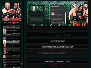 Screenshot of Pro Wrestling Evolution.