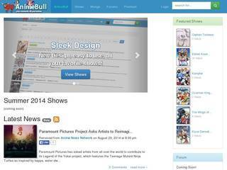 Screenshot of AnimeBull.com