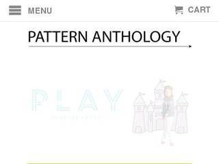 Screenshot of Pattern Anthology