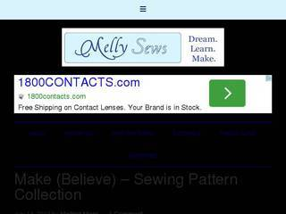 Screenshot of Melly Sews