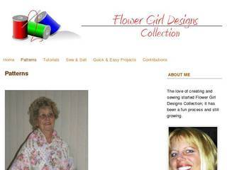 Screenshot of Flower Girl Designs Collection