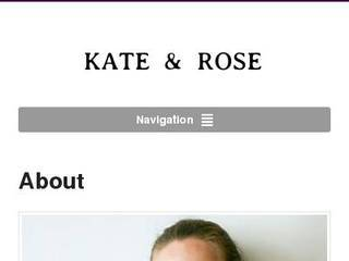 Screenshot of Kate & Rose