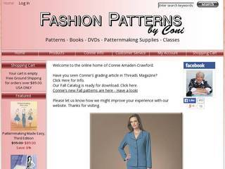 Screenshot of Fashion Patterns
