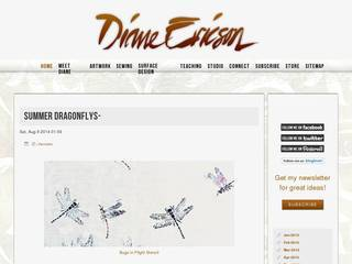 Screenshot of Diane Ericson Design