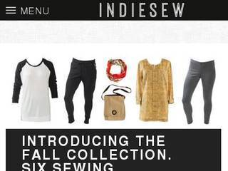 Screenshot of Indie Sew