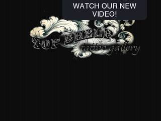 Screenshot of TopShelf Tattoo Gallery