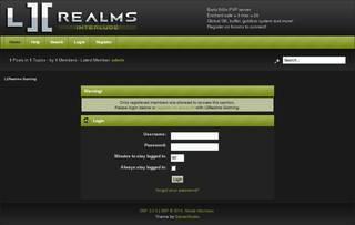 Screenshot of L2Realms INTERLUDE 500x