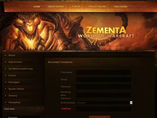 Screenshot of ZementA WoW | European Battlegroup auf Deutsch!