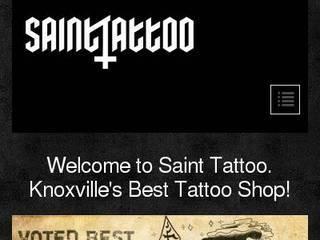 Screenshot of Saint Tattoo