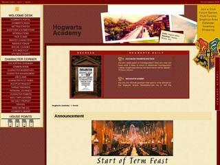 Screenshot of Hogwarts Academy