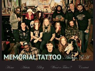 Screenshot of Memorial Tattoo