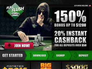 Screenshot of Full Flush Poker