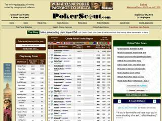 Screenshot of Poker Scout