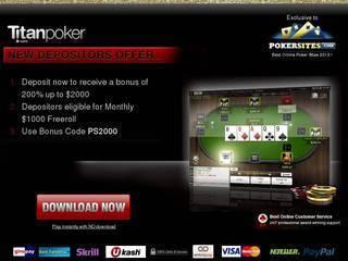 Screenshot of Titan Poker