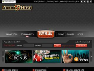 Screenshot of Poker Host