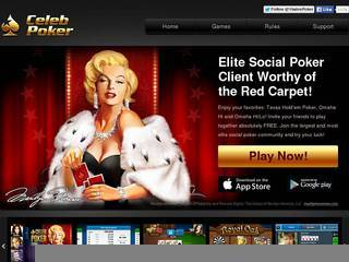 Screenshot of Celeb Poker