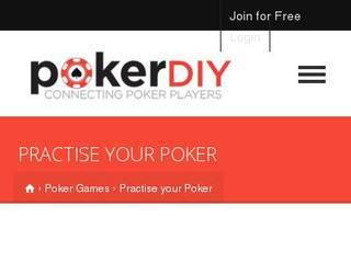 Screenshot of Poker DIY