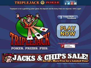 Screenshot of Triple Jack