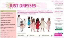 Screenshot of Girls'  Dresses by Just Dresses