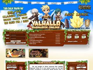 Screenshot of Valhalla Ragnarok Online