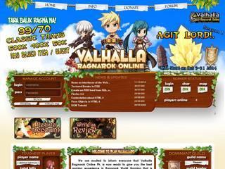 Screenshot of Valhalla Ragnarok Online