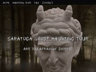 Screenshot of Saratoga Ghost Haunting Tours